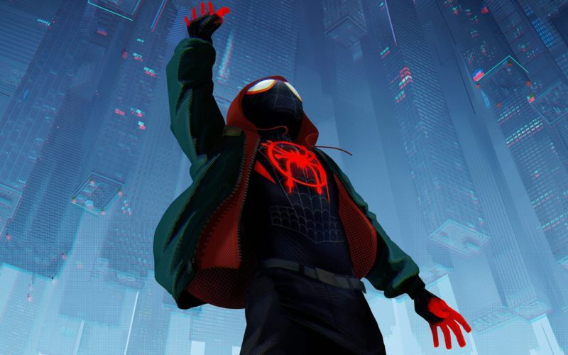 Spider-Man Into the Spider-Verse Banner
